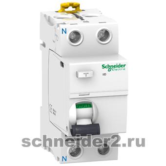 A9R61263 УЗО Schneider Electric iID 2П 63A 30МA Asi — Устройства защитного отключения (УЗО)  — купить в интернет-магазине с доставкой по Москве и области